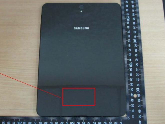 Samsung Galaxy Tab S3 glas