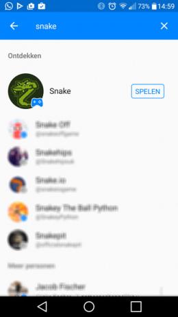 Nokia Snake Facebook Messenger