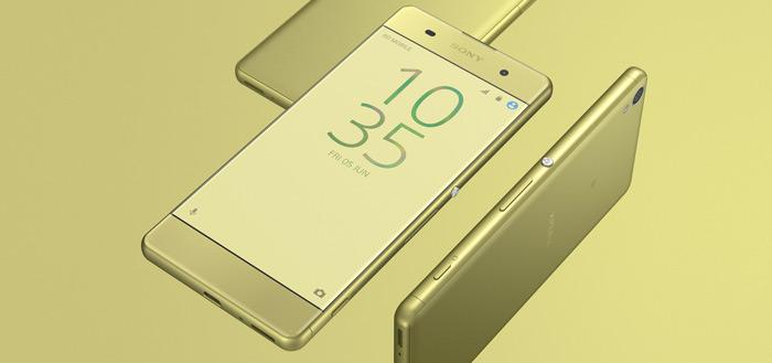 Sony Xperia XA cashback-actie: tientallen euro's korting op nieuwe smartphone