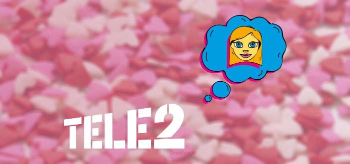 Tele2 geeft klanten gratis 2GB data voor Valentijnsdag