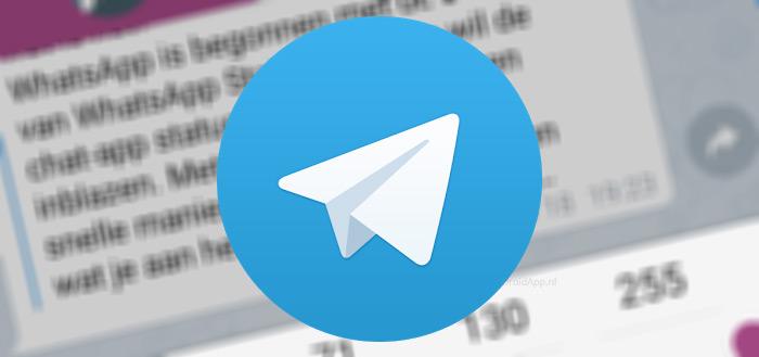 Telegram 4.0 introduceert betalingen, videoberichten en meer