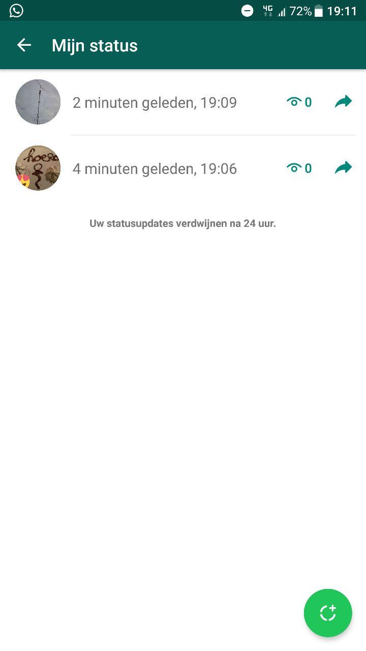 whatsapp geschiedenis verwijderen