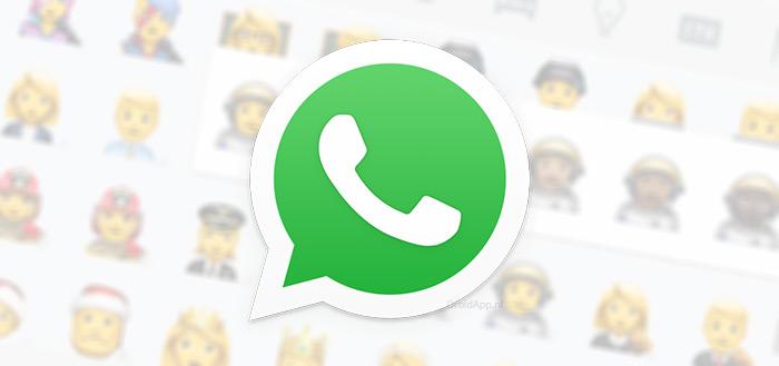 WhatsApp 2.18.361 in Play Store: 145 nieuwe emoji en nieuwe tijdweergave voor iedereen