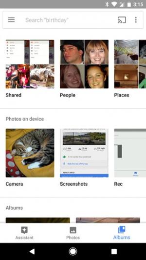 Google Foto's 2.8