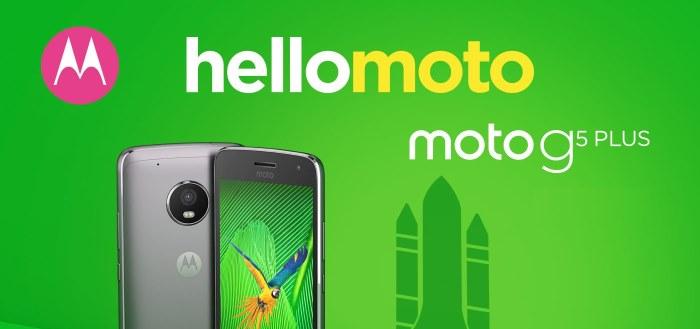 Moto G5 Plus ontvangt (nu pas) beveiligingsupdate november 2017
