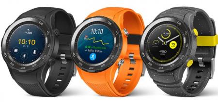 Huawei Watch 2 sportieve smartwatch met Android Wear 2.0 aangekondigd