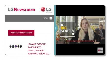 LG UX 6.0 multitasking
