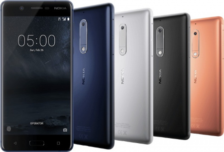 Nokia 5 Android 8.0 Oreo beta