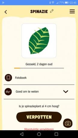 AH Moestuin app
