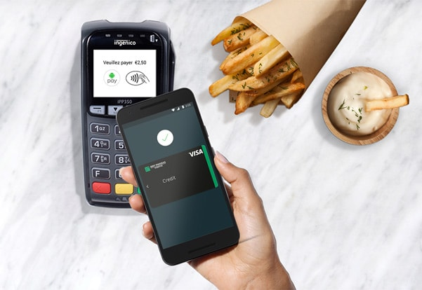 Android Pay België