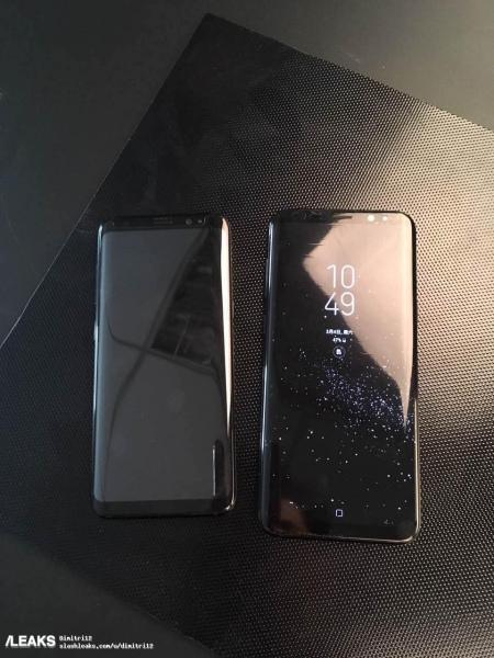 Galaxy S8 S8+ zwart