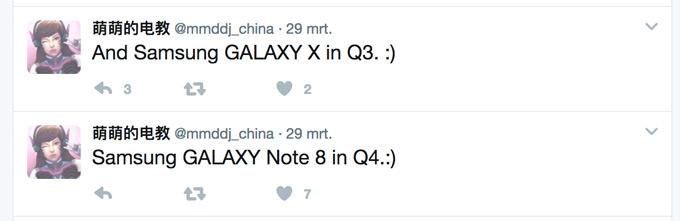 Galaxy X Q3 Note8 Q4