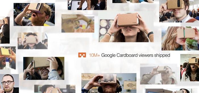 Google verscheept 10 miljoen Cardboards; The Sims komt in augmented reality