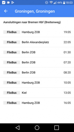 Google Maps Flixbus