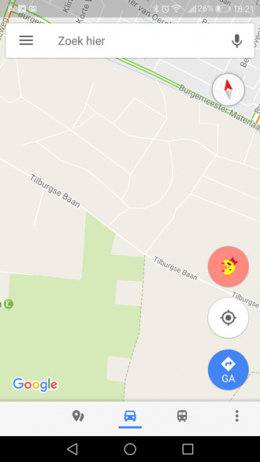 Google Maps Pac-Man