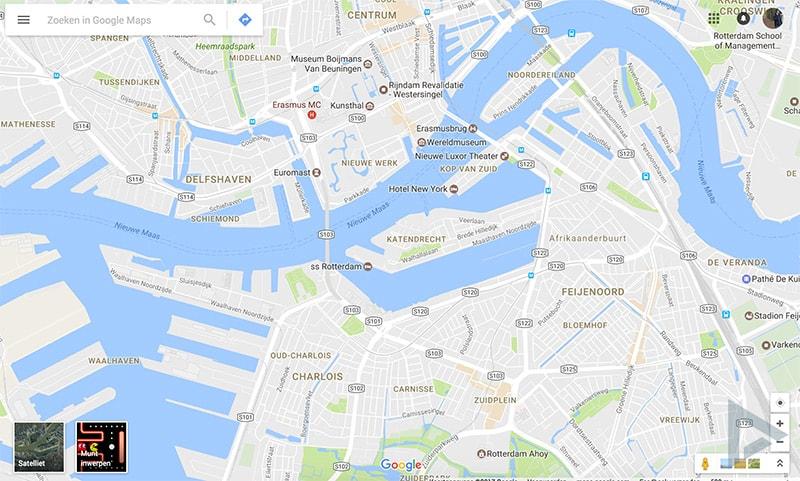 Google Maps Pac-Man web