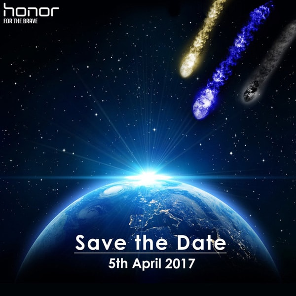 Honor V9 - Honor 8 Pro aankondiging 5 april