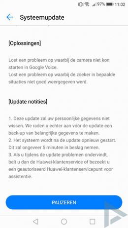Huawei P10 B113 update