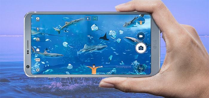 LG UX 6.0 G6 camera