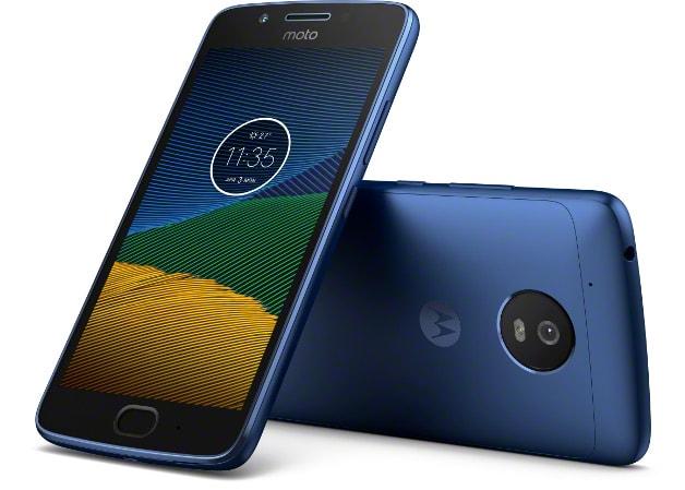 Moto G5 Sapphire Blue