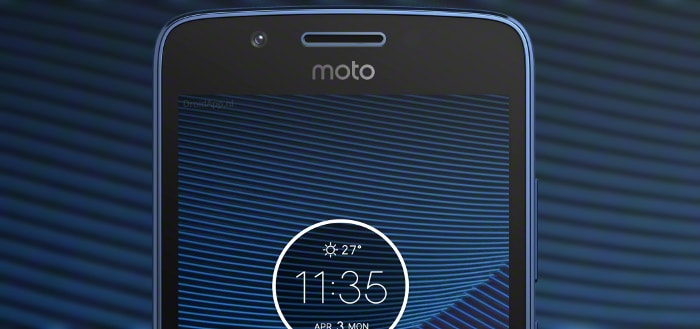 Foto's van Moto G5 in kleur Blue Sapphire gelekt
