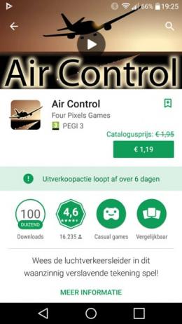 Play Store aanbieding