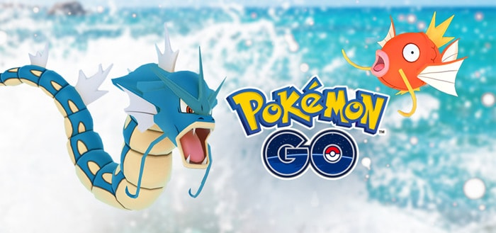 Pokémon Go Water festival 2018 van start met veel water monsters