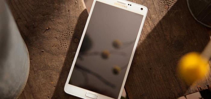Samsung Galaxy Note 4: beveiligingsupdate juli 2017 en veel verbeteringen