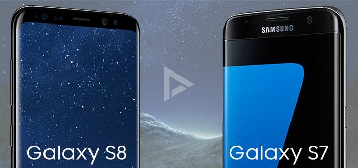 Wat zijn de verschillen tussen de Samsung Galaxy S7 (Edge) en Galaxy S8 (Plus)?