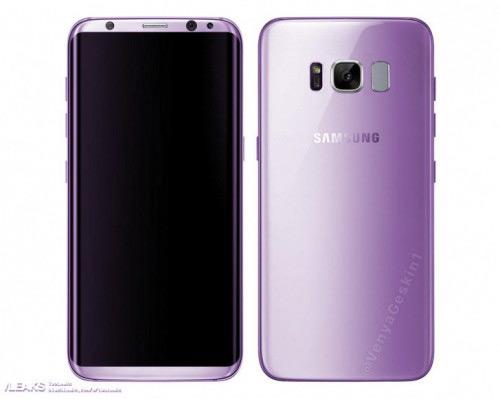 Samsung Galaxy S8 Amethist