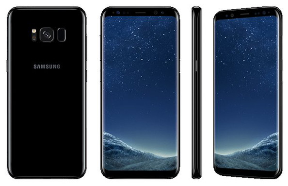 Samsung Galaxy S8 black sky