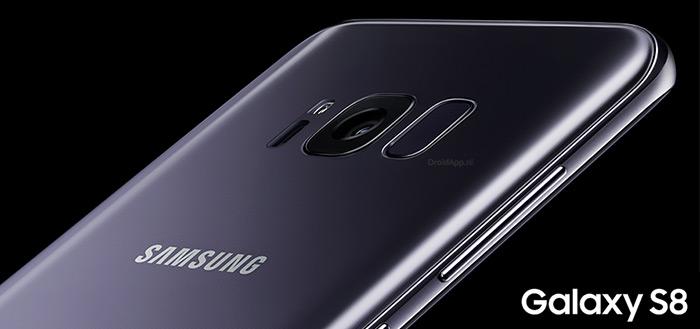 Samsung verkoopt 5 miljoen exemplaren van Galaxy S8 in minder dan een maand