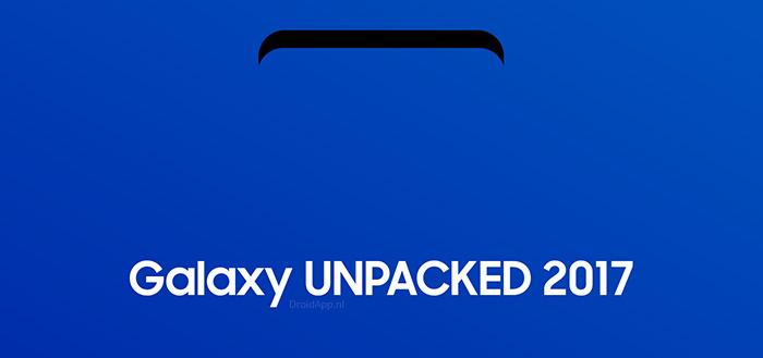 Galaxy Unpacked 2017 app bereid je voor op de komst van Galaxy S8