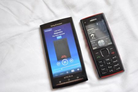 Sony Ericsson Xperia X10 - Nokia X2