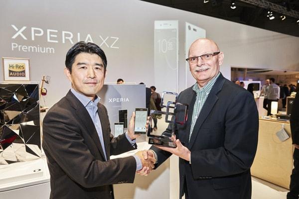 Sony Xperia XZ Premium award 2017