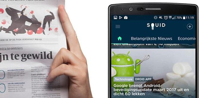 Squid: erg interessante nieuws-app die laat zien wat jij wilt lezen