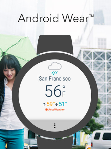 AccuWeather voor Android Wear 2.0