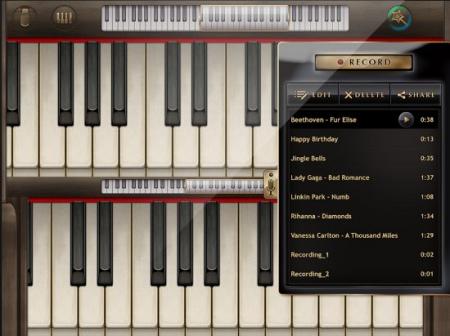 Echte piano
