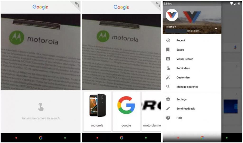 Google app afbeeldingen zoeken