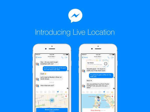Messenger Live Location