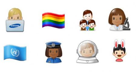 Samsung Galaxy S8 emoji