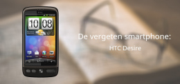 Vergeten Smartphone HTC Desire