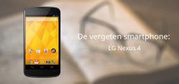Vergeten smartphone Nexus 4