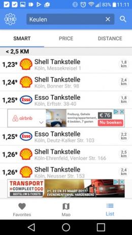 1-2-3 Tanken app