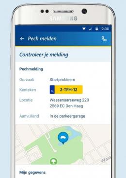 ANWB Wegenwacht app
