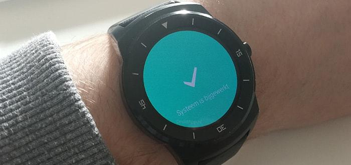 Eerste gebruikers ontvangen Android Wear 2.0 op LG Watch Urbane en LG G Watch R