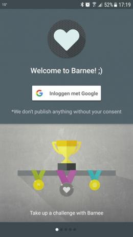 Barnee Fitness Challenges app