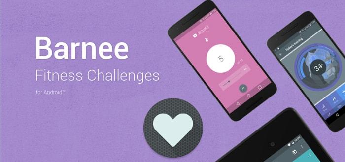 Barnee Fitness Challenges: strakke app helpt je in 30 dagen met bewegen
