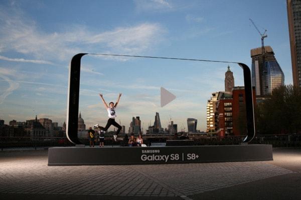 Samsung Galaxy S8 sculpturen verenigd koninkrijk
