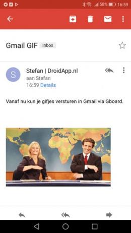 Gmail GIF Gboard